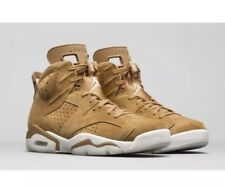 NEW NIKE AIR JORDAN 6 RETRO GOLDEN HARVEST WHEAT SHOE 384664-705 MEN SIZE 8