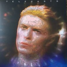 David Bowie Telecasts LP Red
