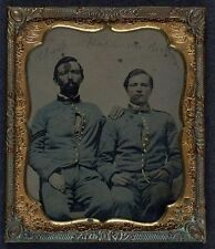 Photo Civil War Union 8th Veteran Reserve Corps VRC Regulation Sky Blue Uniforms