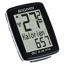 Sigma Sport Computadora De La Bici BC 9.16 ATS SIN CABLES