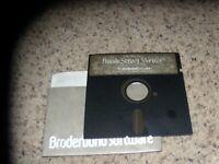 "Bank Street Writer for Apple IIc/128K IIe on 5.25"" disk"