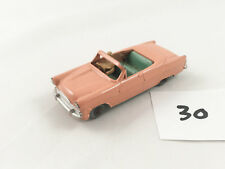 Matchbox Lesney # 39 A Ford Zodiac Convertible Diecast 1958 Durazno/verde casi nuevo y sin usar