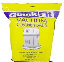 10 X Vacuum Cleaner Bags Pullman As5 Ghibli As5 Hako Cleanstar Qc160