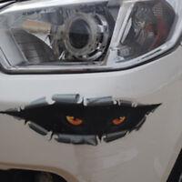 1x Cool 3D PEEKING Funny Car Van Bumper Window Car Stickers Decals Univesal Use