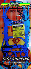 Hi Perfomance GY6 150 58.5mm 155cc SCOOTER Racing Full Gasket Set *USA Material*