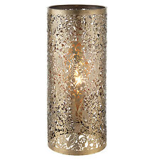 liberée Secret Garden Lampe de table 40W laiton ancien effet assiette