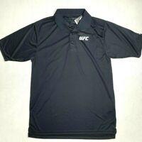 UFC Polo Shirt Men's M Short Sleeve Dry Moisture Management Golf Athletic Reebok