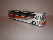 "1/50 Corgi bus Fishbowl RTD ""Airport Express"" custom painted"