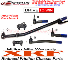 XRF Lifetime T Drag Link Tie Rod Kit 2WD Ford F250 F350 Super Duty 1999 - 2004
