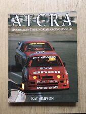 1989 AUSTRALIAN TOURING CAR RACING ANNUAL ATCRA HARDCOVER BOOK FORD HOLDEN V8