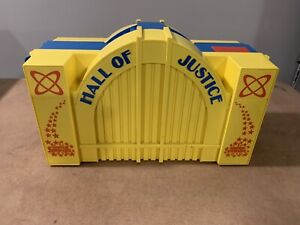 Vintage 1984 Kenner Hall Of Justice - DC Super Powers Playset Parts