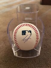 Royce Lewis Autographed Baseball Minnesota Twins WITH CASE