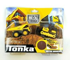 Tonka Metal Movers Front End Loader & Mighty Dump Truck Tonka Metal Tough Dirt