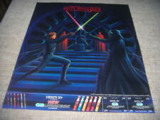 "Star Wars Rare Poster ""Return Of The Jedi"" Oral-B Poster 1983 NM 22"" x 18"""