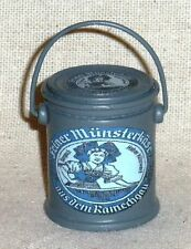 """1:6 scale large can of WW II German """"Munster Cheese"""""""