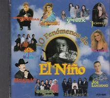 Enrique Iglesias Ana Barbara Sparx Jordi 10 Fenomenos de El Nino CD New Sealed