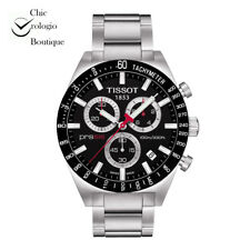 NEW TISSOT PRS 516 RETRO CHRONOGRAPH QUARTZ BLACK DIAL WATCH T044.417.21.051.00