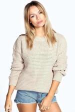 Jersey de mujer de color principal beige talla L