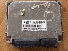VW ecu immo off/ removed plug & play SIEMENS 06A906019CM 06a 906 019 cm 5WP4429