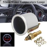 """Car 2"""" 52mm Universal Digital LED 12V Water Temp Temperature Meter Gauge&Sender"""