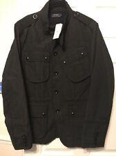 Ralph Lauren, Polo Ralph Lauren Black ,4pocket, Kilowatt Jacket ,Large, BNWT