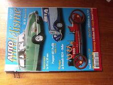 $$p Revue Auto modélisme N°107 DS 21  Peugeot 601  Renault RE24  Ford 999  F430