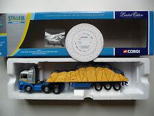 Corgi 76801 MAN Artic Platform Trailer With Sheeted Load - Stiller Transport.