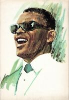 RAY CHARLES-THE RAELETS 1967 TOUR CONCERT PROGRAM SOUVENIR BOOK BOOKLET-EX 2 MNT