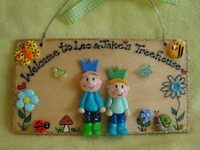 3d Personalised 2 character Playhouse Wendy House Treehouse Sign Shed Allotment