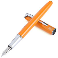 Picasso 916 Malage Orange Fountain Pen Classic Elegant Pen Fine Nib Writing Pen
