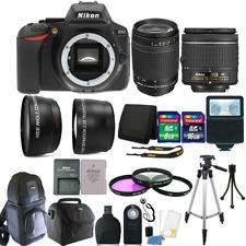 Nikon D5600 24.2 MP D-SLR Camera + 18-55mm + 70-300mm Lens & 24GB Accessory Kit