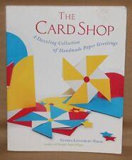 THE CARD SHOP DAZZLING HANDMADE PAPER GREETINGS BOOK LOUNSBURY CRAFT IDEAS