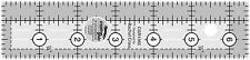 """Creative Grids 1.5"""" x 6.5"""" Rectangle Sewing and Quilting Ruler"""