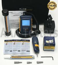 Fluke Networks Ft500 Fiber Scope Video Microscope Inspector Cleaning Kit Ft 500