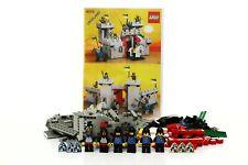 Lego Castle Black Falcons Set 6073 Knight's Castle 100% complete +instr. 1984