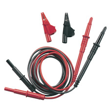 DI LOG TL1000 Test Lead Set + Croc Clips, Multi Meter Leads