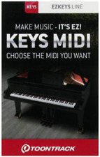 Toontrack EZKeys MIDI Pack License Serial - PICK ANY MIDI PACK! Digital Delivery