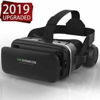 Pansonite VR Headset Box  with Earphones 3D Virtual Reality Headsets Glasses