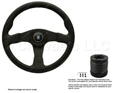 Nardi Twin 350mm Steering Wheel + MOMO Hub for Honda CRX 6092.35.2071 + 4911