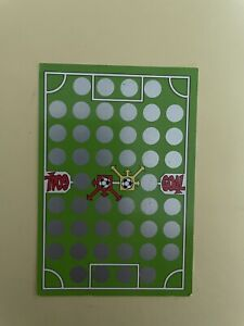 Card bet Slip - Scratch & Play - Goal - Panini 2001 New