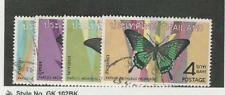 Thailand, Postage Stamp, #509-512 Used, 1968 Butterfly