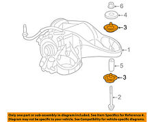 GM OEM Axle Differential-Rear-Differential Insulator 10413097