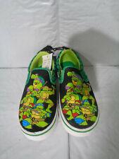 NWT - Teenage Mutant Ninja Turtles - Boy's - Slip-On Sneakers / Shoes - Size 11