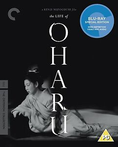 THE LIFE OF O'HARU Kinuyo Tanaka BLURAY in Giapponese Special Edition NEW .cp