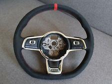 Genuine VW Golf 7 Clubsport GTI Alcantara Steering Wheel Multifunction DSG