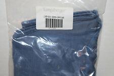 New Longaberger Large Desktop Fabric Liner For Basket, Cornflower