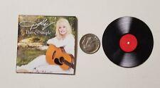 "Miniature record album Barbie Gi Joe  Playscale1/6  2""  Dolly Parton Pure Simple"