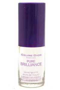 Celine Dion PURE BRILLIANCE Eau de Toilette, .575 fl oz  (New-No Box)