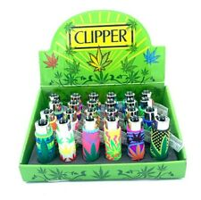 The Coolest Covers clipper Cigarette lighters Refillable lighter Leaf Collection