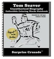 Tom Seaver Baseball Card Sports Trading Card Notebook AUTHOR AUTOGRAPH SET